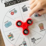 Family Movie Night Fidget Spinner Movie Picker