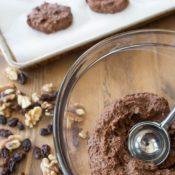 Healthy Chocolate Cookies Batter