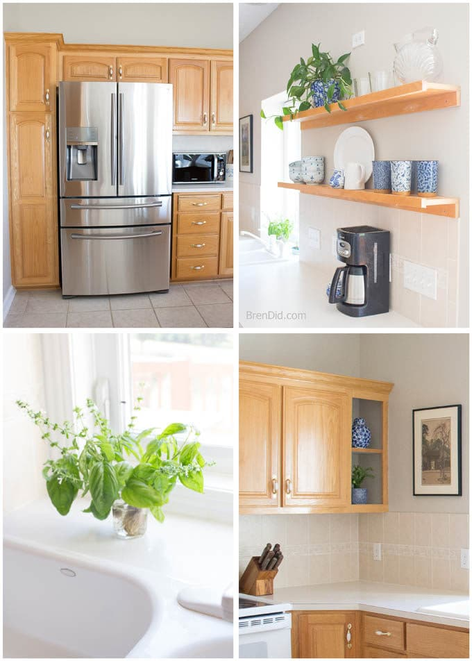 $0 Kitchen Makeover