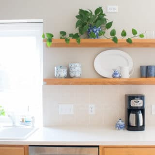 The Amazing $10 Mini Kitchen Makeover