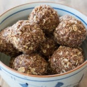 no bake chocolate energy balls horizontal