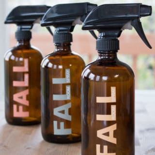 All-Natural Room Freshener Spray for Autumn