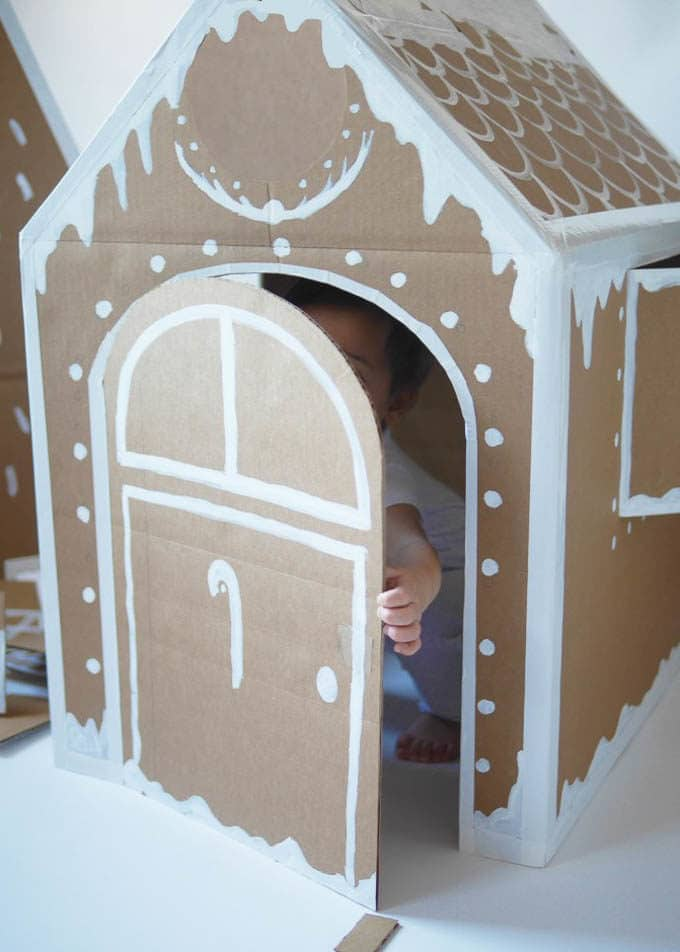 Your Model Home: Cardboard Christmas Decorations