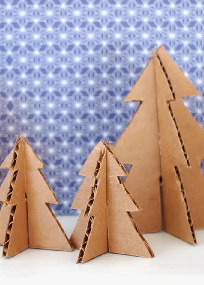 Cardboard Christmas Decorations 11
