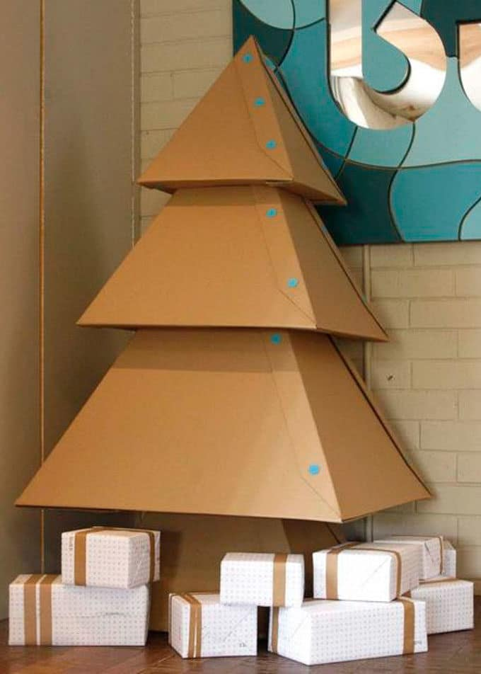 Cardboard Christmas Decorations 15