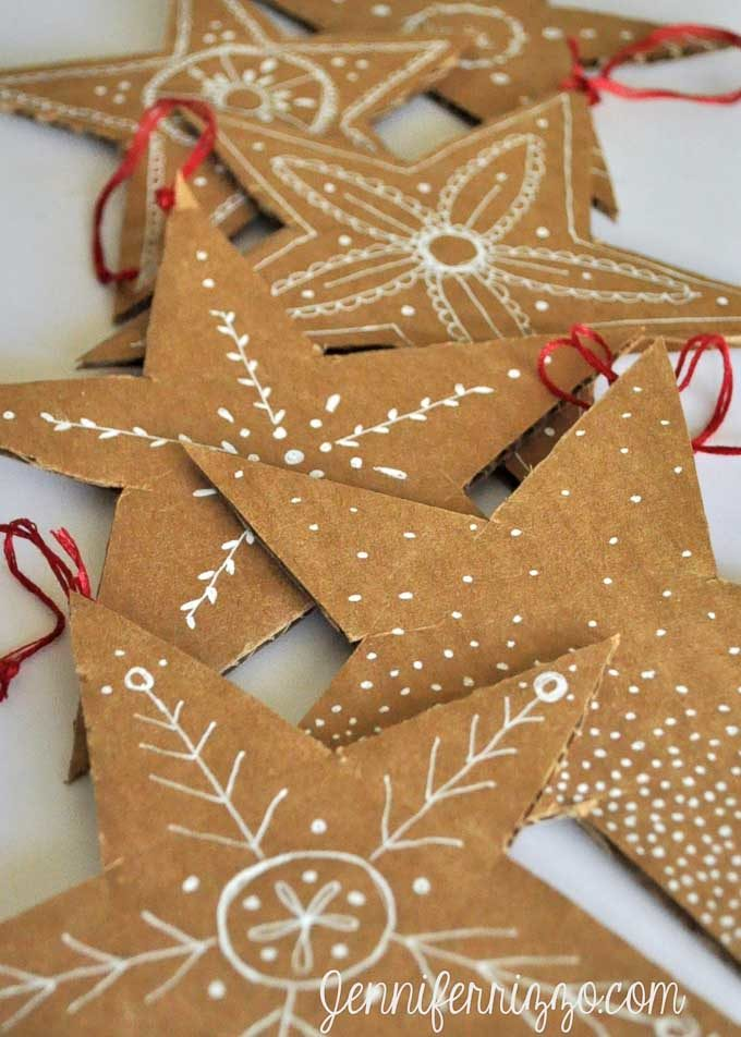 cardboard christmas decorations 5 - Large Cardboard Christmas Decorations