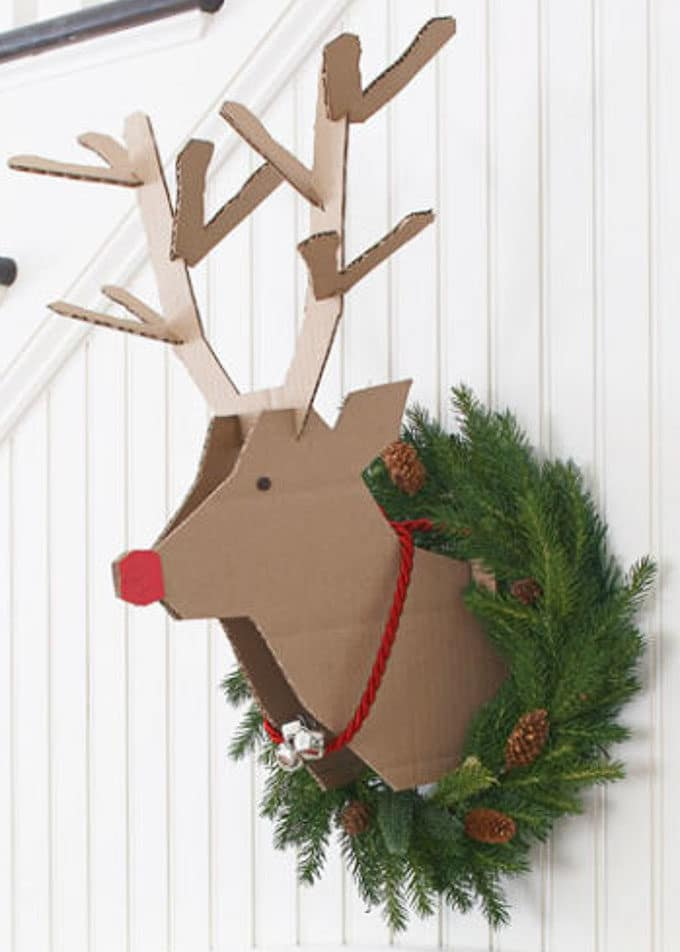 Cardboard Christmas Decorations 8