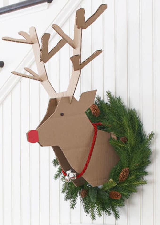 Cardboard Christmas Decorations 8