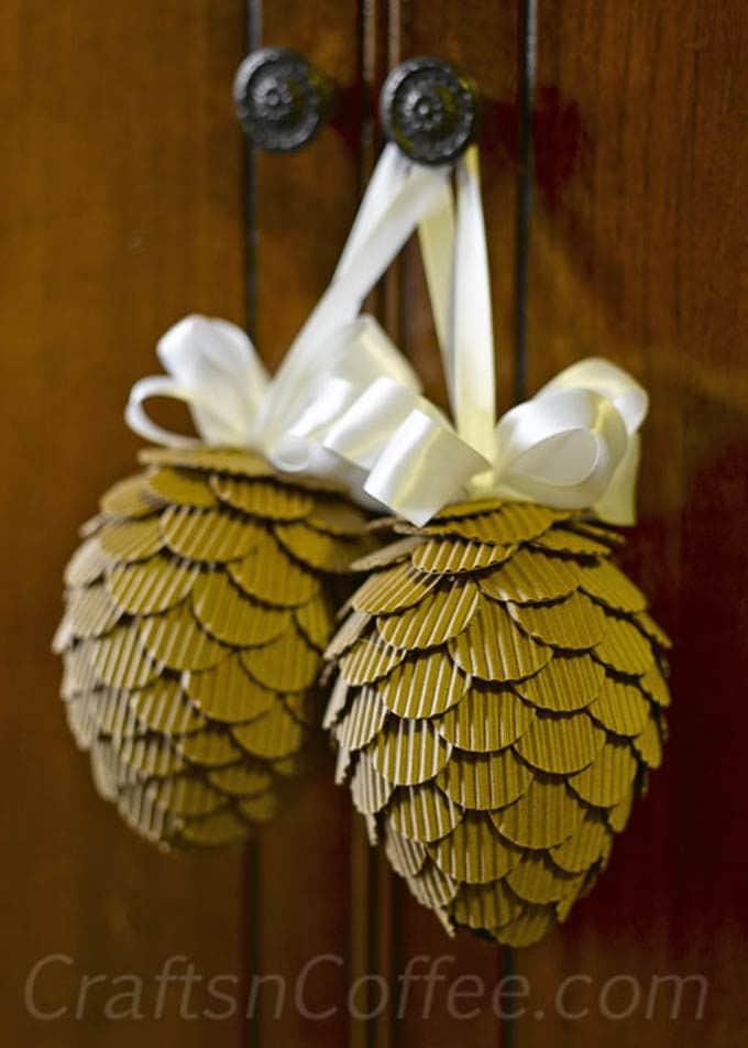 Cardboard Christmas Decorations 9