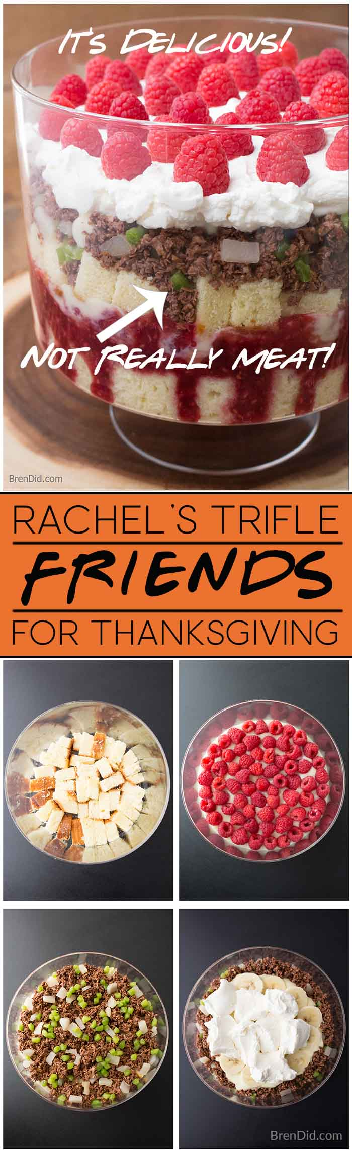 Make the iconic Friends Thanksgiving trifle with a fake
