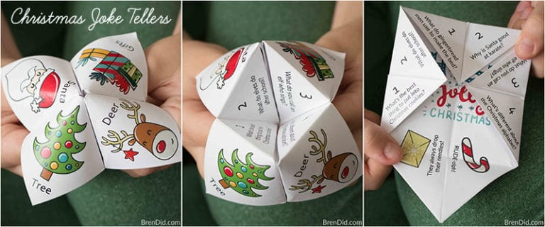 Christmas Joke Teller Fortune Teller from Bren Did FB