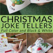 Christmas Joke Teller from Bren Did Pin