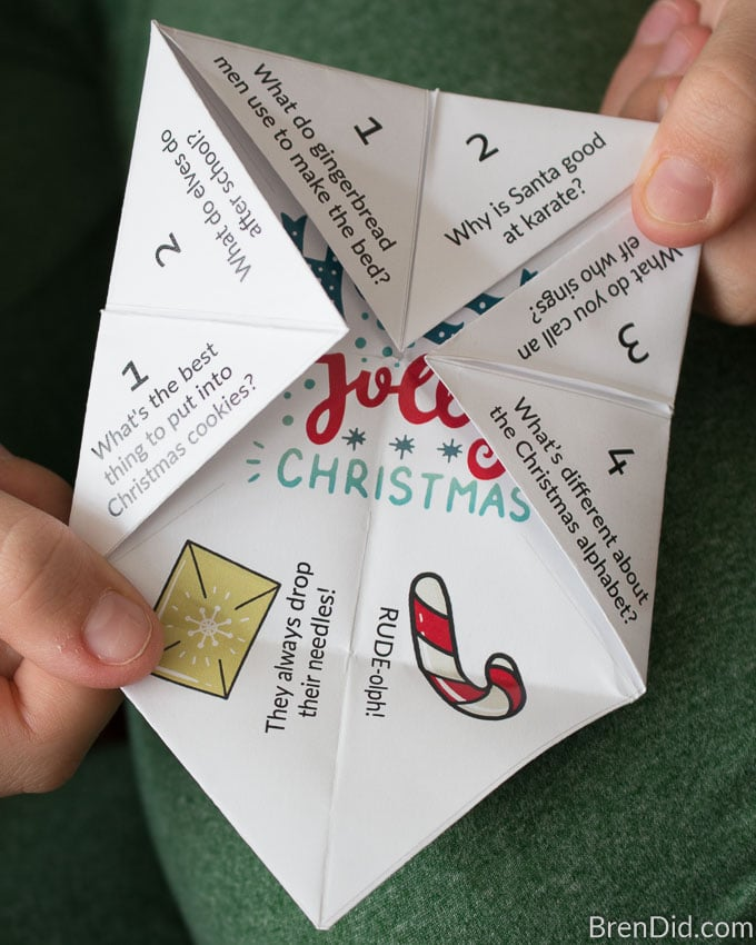 Christmas Joke Teller fortune teller jokes