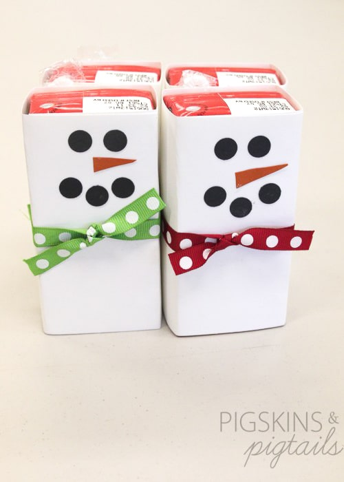 Class Party Ideas Snowmen Juice Boxes