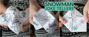 Snowman Joke Teller long