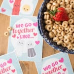 Breakfast BFFs & Free Printable Best Friend Cards