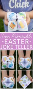 Easter Joke Teller Collage for Pinterest
