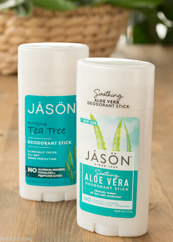 Jason deodorant 2 sticks