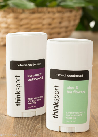 Thinksport Natural Deodorant 2 sticks