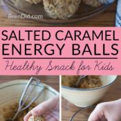Salted Caramel Energy Balls long Collage