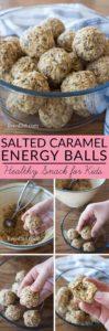 Salted Caramel Energy Balls long Collage