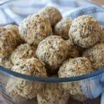 Salted Caramel No Bake Energy Balls for Kids