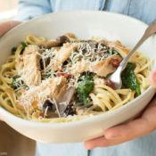 Crock Pot Chicken Marsala serving