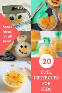 20 Fruit Cups for Kids Collage