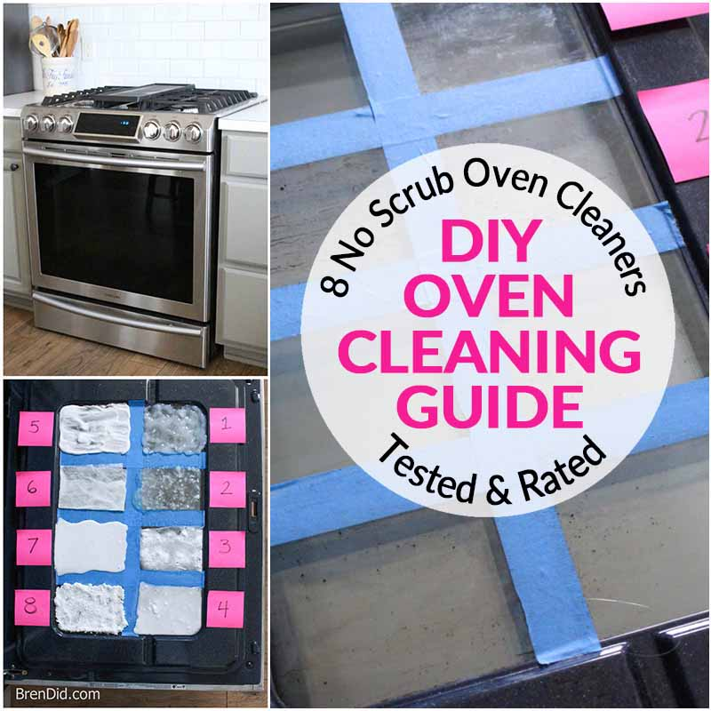 oven cleaner collage square