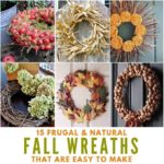 Easy Natural Fall Wreaths to Make for Your Front Door