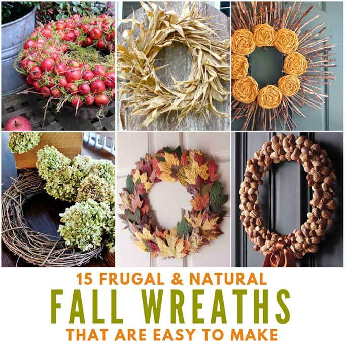 Fall Leaves Front Door Wreath For 0 Bren Did