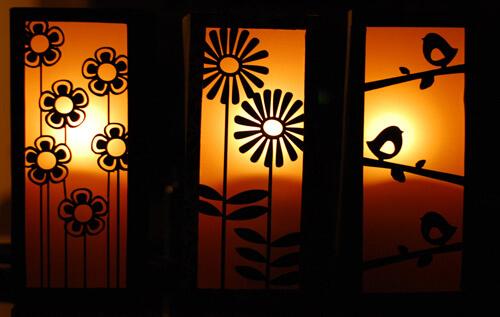 diy lanterns with soda cartons