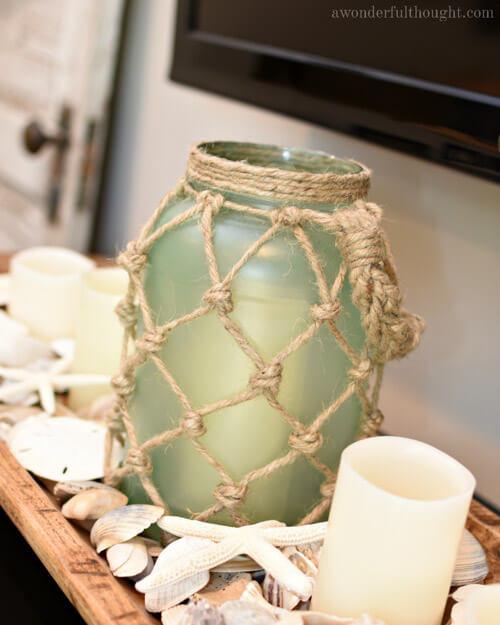 diy lanterns with recycled jars