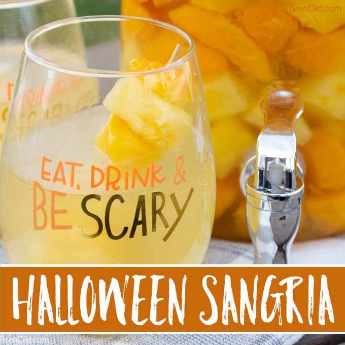 Eat Drink and Be Scary Halloween Sangria recipe square image