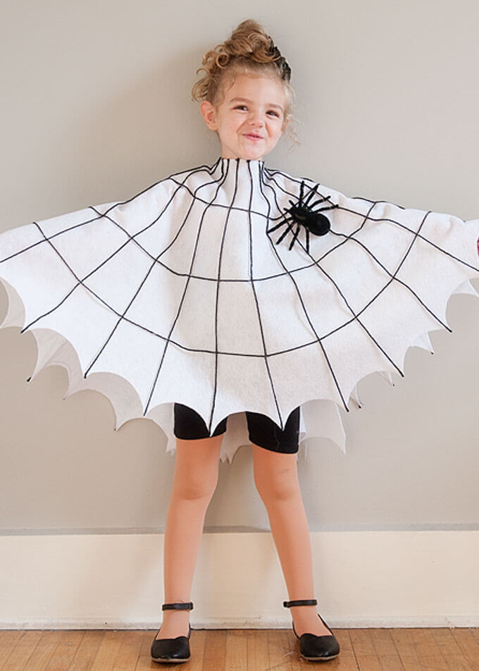spiderweb costume