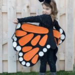How to Make an Easy Butterfly Costume for Halloween: No Sew Pattern