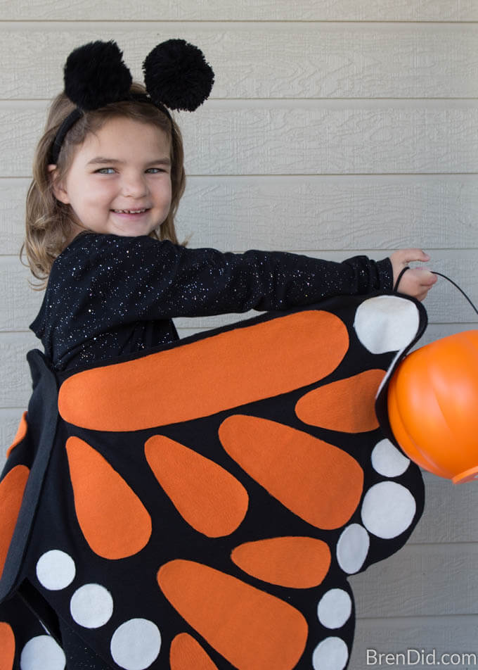 Butterfly Costume Trick or Treat