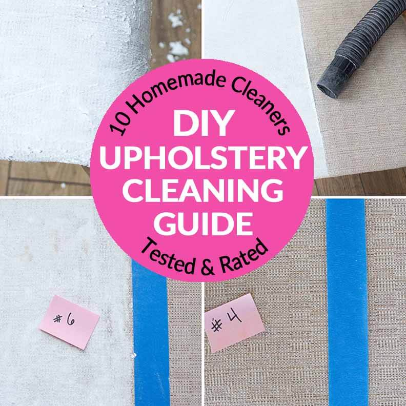 Battle For The Best Upholstery Cleaner 10 Natural Homemade Cleaners Tested Rated Bren Did