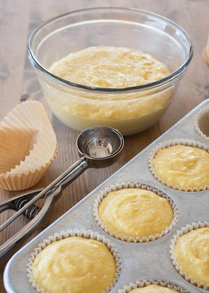 corn muffin batter