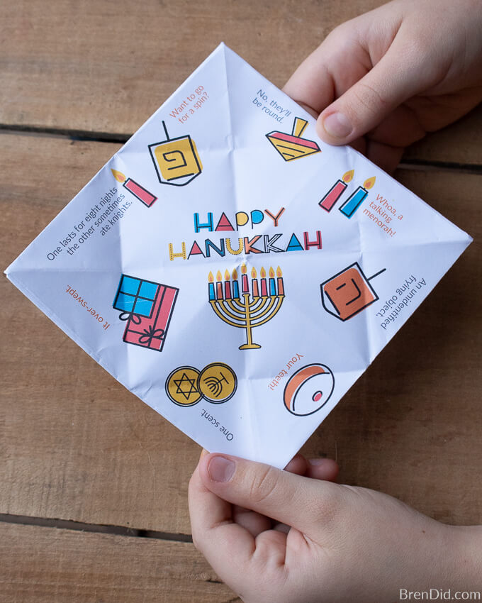 Happy Hanukkah kids coloring