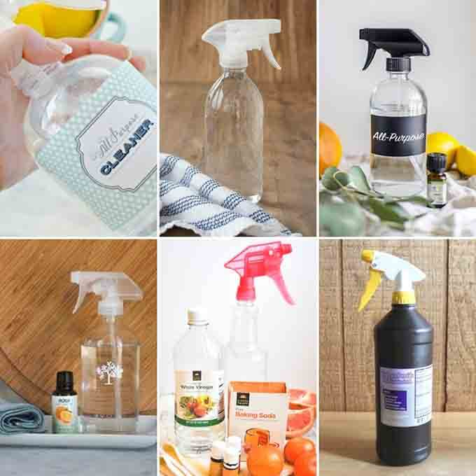 6 homemade all purpose cleaners