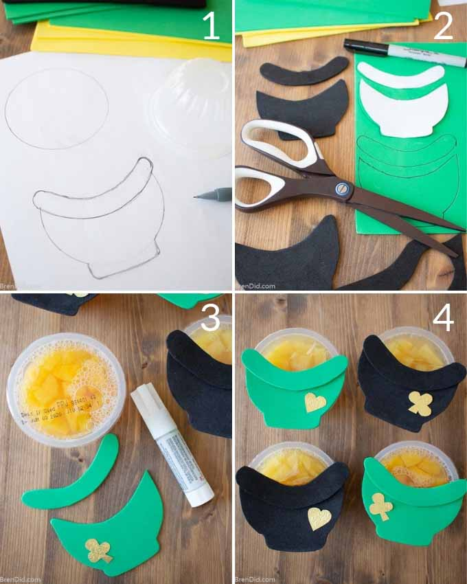 St Patrick's Day Snacks Step by Step instructions