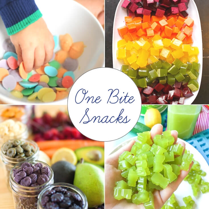 one bite St Patrick's Day treats collage