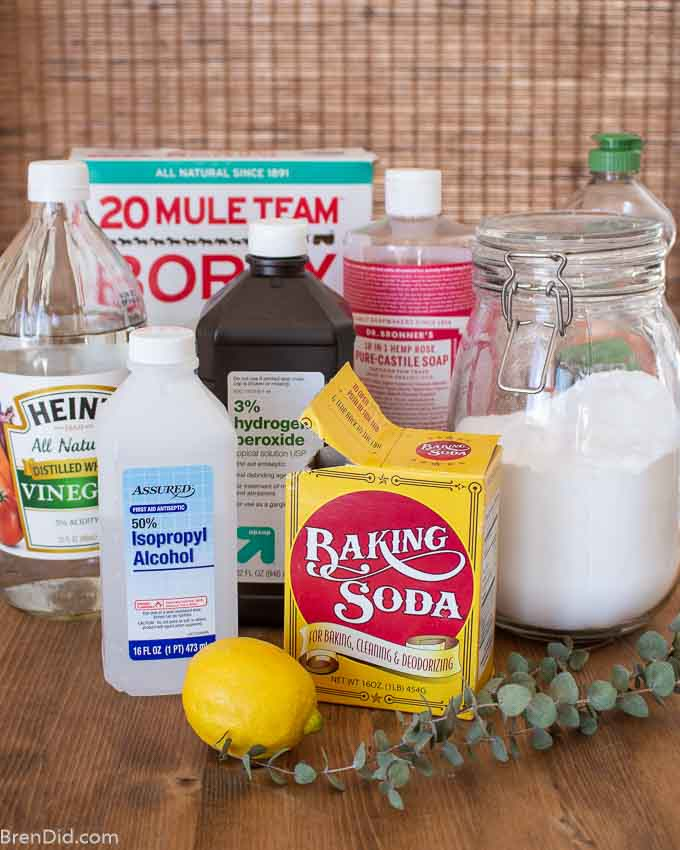 popular ingredients for all purpose cleaners